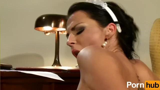 Extremely Hot Maid Fucks Boss - 13