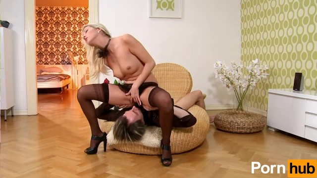 Sexy Blonde In Lingerie Wants The Cock - 6