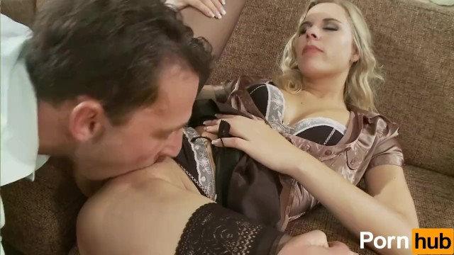 Blonde Teen Rides The Cock - 5