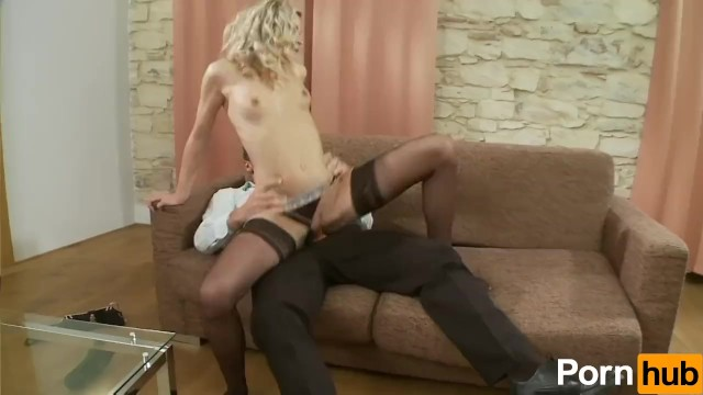 Blonde Teen Rides The Cock - 8