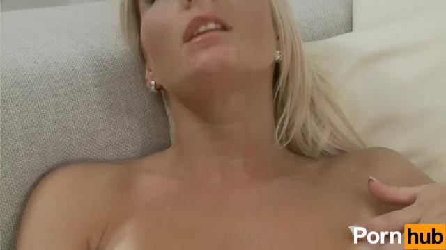 Gorgeous Tanlined Chick Masturbates - 5