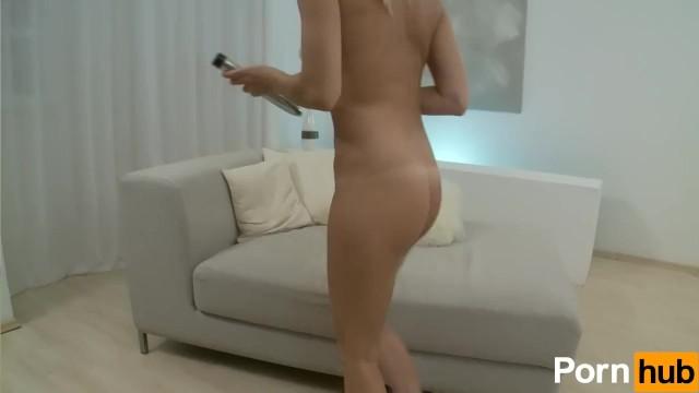 Gorgeous Tanlined Chick Masturbates - 9
