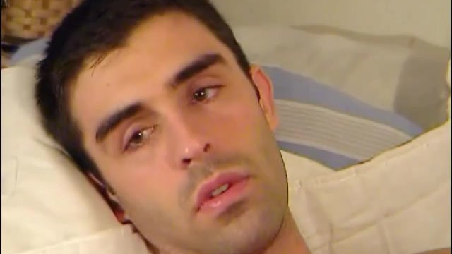 French mega cute guy get massaged and get wanked in spite of him ! - 13