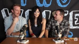 TWG Two White Guys Diana Prince Interview PornhubTV porno