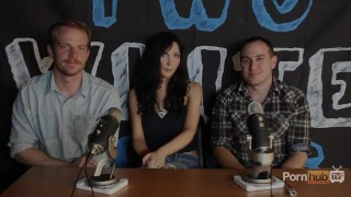 TWG Two White Guys Diana Prince Interview PornhubTV Puba tits