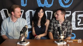 TWG Two White Guys Diana Prince Interview PornhubTV Interview pornstar