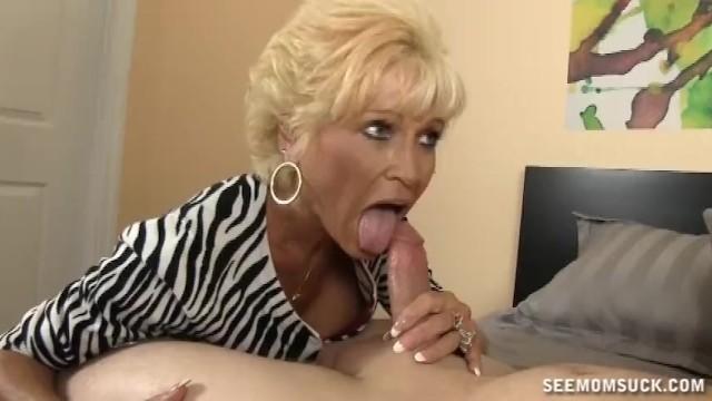 Horny Mature Lady Sucks A Big Cock - 10