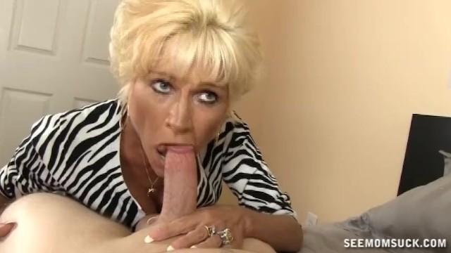 Horny Mature Lady Sucks A Big Cock - 8