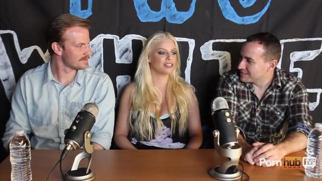 TWG Two White Guys Britney Amber Interview PornhubTV - 6