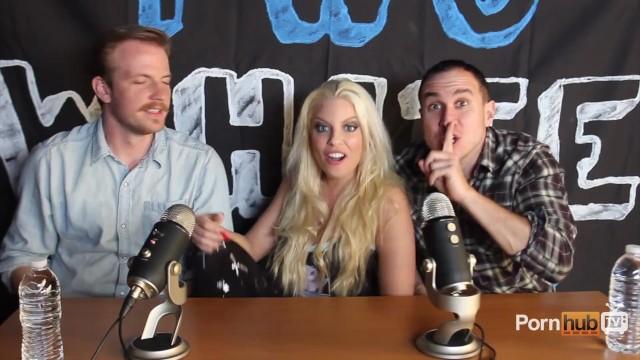 TWG Two White Guys Britney Amber Interview PornhubTV - 8