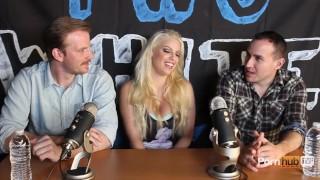 TWG Two White Guys Britney Amber Interview PornhubTV