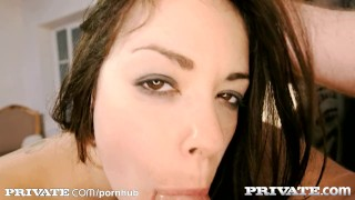 Private: Beauties love hard dicks Blowjob 3some