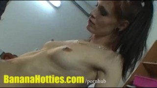Hardcore fingering at the casting