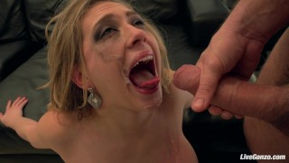 LiveGonzo Kagney Linn Karter Sexy Babe Getting Fucked All Over Natural blowjobs