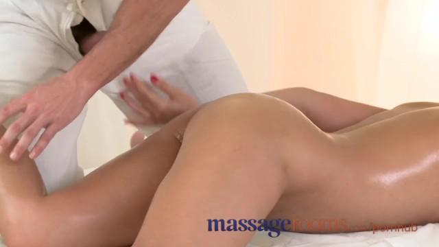 Spunk shot boobs - Massage rooms wet zuzana has deep orgasm before getting a heavy spunk load