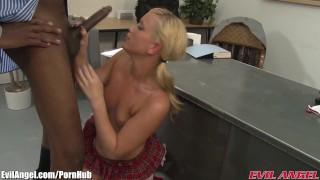 EvilAngel Sean Michaels Ass Fucks a Big Boobed Blonde