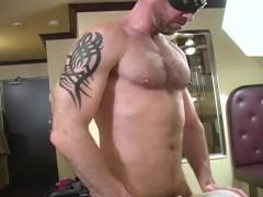 Postman bareback fuck
