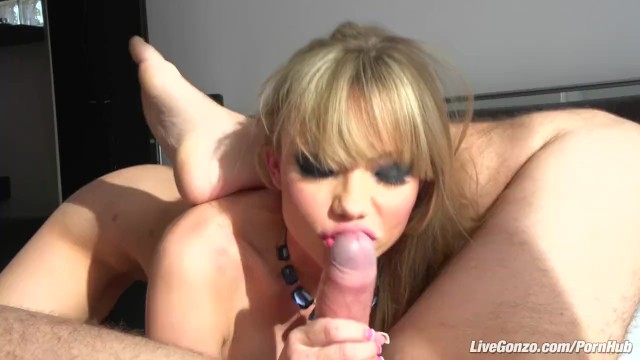 Lives gonzo porn actresses Livegonzo maya hills cute blonde face gets fucked
