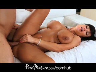 PureMature Lisa Ann fucks pool boy