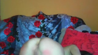 Webcam Girl Toying with Big Dildo HD
