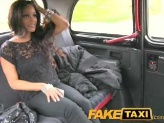 FakeTaxi Petite young thief pays for her crime