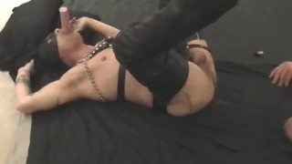Leather And Cum - Scene 2 Tattoos gay