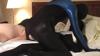 spandex and sucking scene spanking riding job