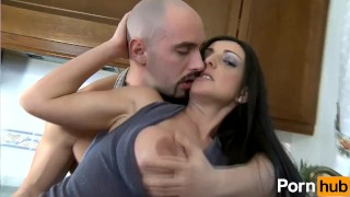 Fucking his spanish hard valet latina mistress her by pleases tits cremepie