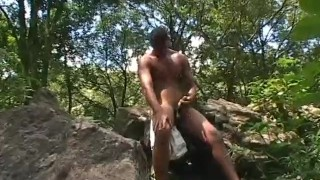 Scene capoeira  outdoor masturbation