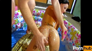 Petite Jordanne Kali has a sweet tooth for cock