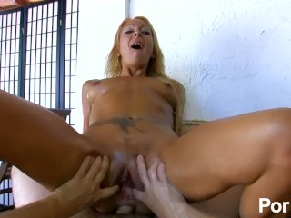 Spanish babe loves fisting and anal sex