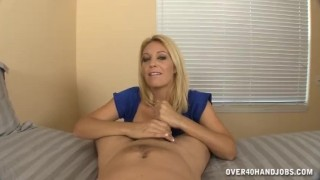 Busty Milf Jerks Your Own Dick