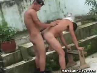 Latino gay hardcore fucking