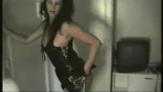 German girl must be a professional stripper porno