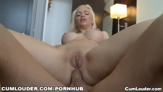 A sexy babe fucking by the ass again because she wants her little Boobs tits