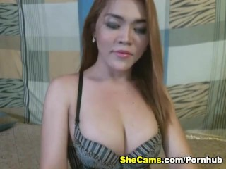 Hot Shemale on Cam