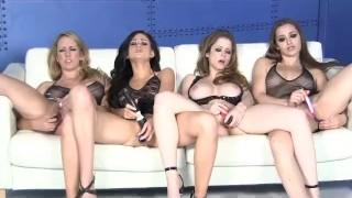 Four Hot Porn Chicks Licking And Fucking porno