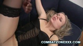 And euro schlong by ass pussy out worked milf black candra gets facial blowjob