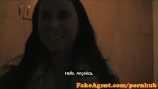 FakeAgent HD Two girls make me cum quick part 2
