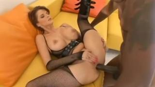 Joslyn James fills Lex Steele's Big Cock in her ass Facial shaved
