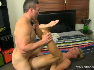 Riding A Straight Muscle Man