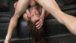 Two White Dicks Slamming Her Slutty Latina Throat Pornhub.com butt