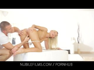 Nubile Films – Would you lick the cum from Dido Angels creampie