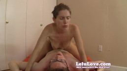 Lelu Love-Riding Virgin Ever After Creampie