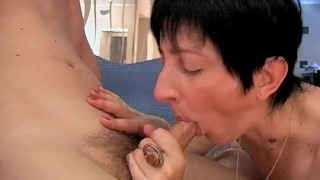 Hot Mama In Steaming Hot Spa Action!