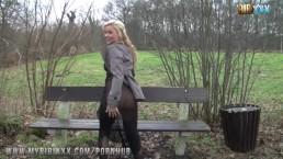 Bibi im public im Park gefickt