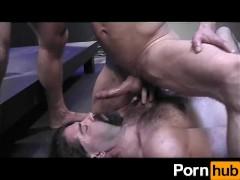 Backroom Muscle Daddies - Scene 2