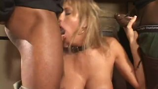 BOOTYLICIOUS SLAVES FOR THE BLACK MAN - Scene 1 Big blowjob