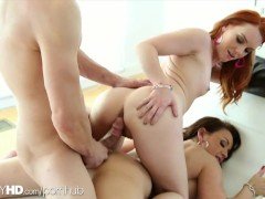 FantasyHD threesome rough