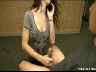 Hot Teen Revenge Handjob